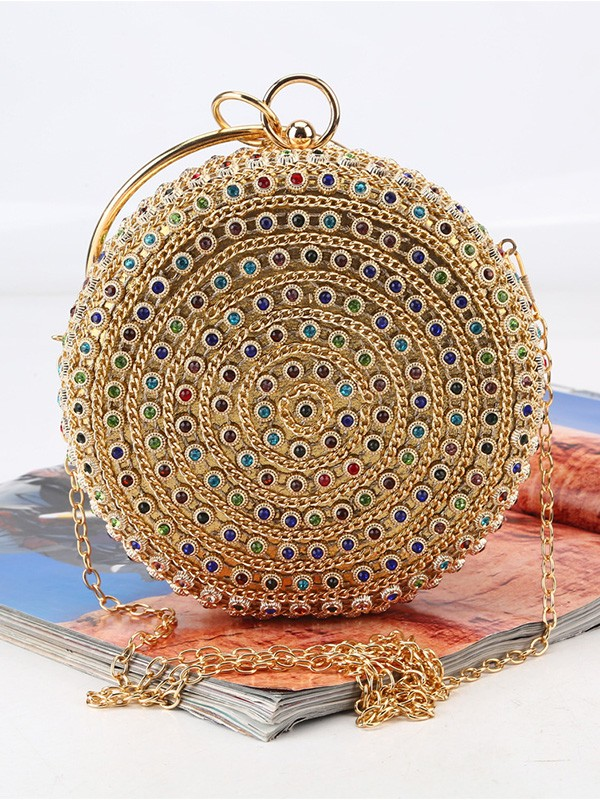 Gorgeous Rhinestone Party Handbags