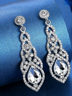 Luxurious Crystal Hot Sale Earrings