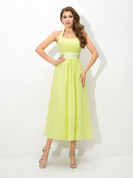 Princess Sweetheart Lace Knee-Length Bridesmaid Gown