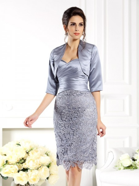 Elegant 1/2 Sleeves Satin Special Occasion Wrap