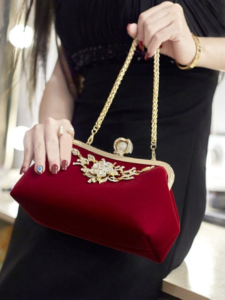 Elegant Rhinestone Party Handbags