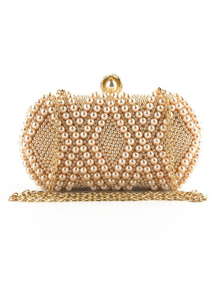 Graceful Pearl Party Handbags