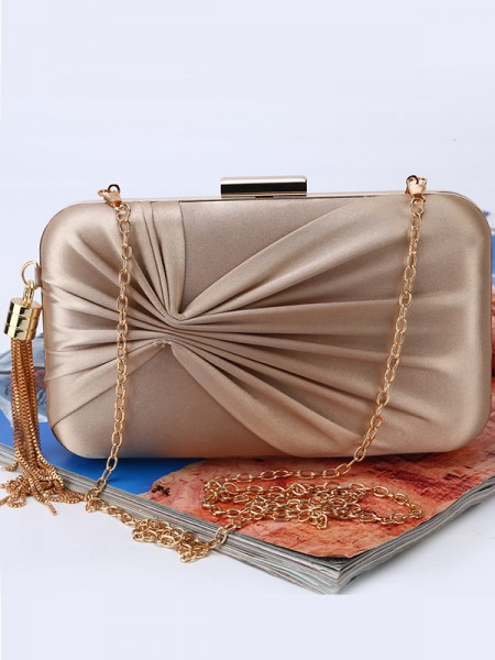 Trending Ruched Party Handbags