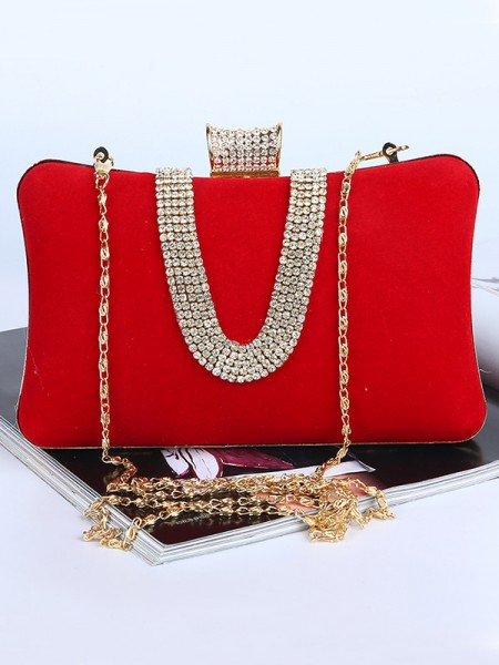 Mini Velvet Party Handbags