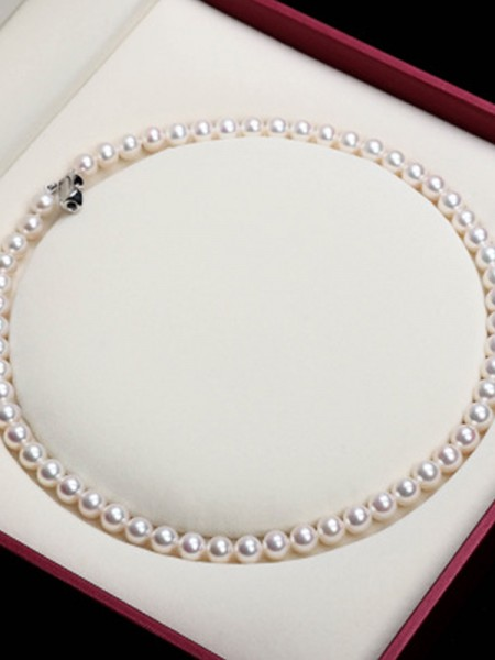 Elegant Pearl Ladies's Necklaces