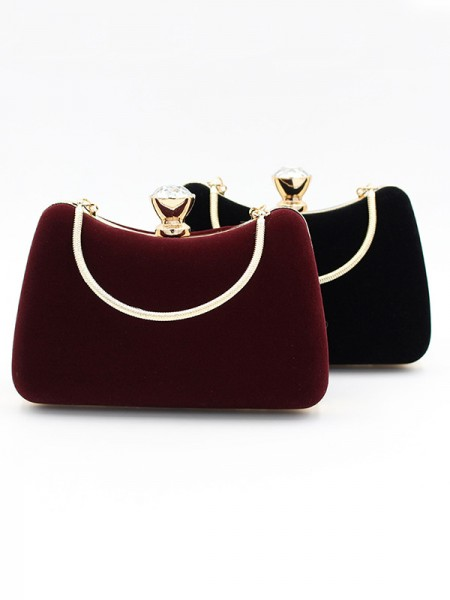 Luxurious Velvet Party Handbags