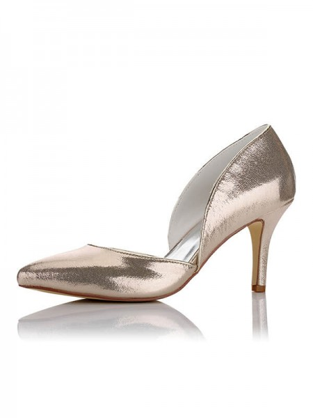 Chic Satin Wedding Shoes SW016235A1I