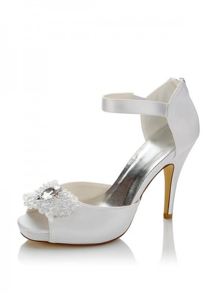 Cheap Satin Wedding Shoes SW085562A1I