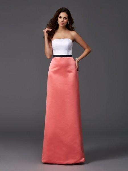 Princess Sweetheart Ruffles Asymmetrical Chiffon Bridesmaid Gown