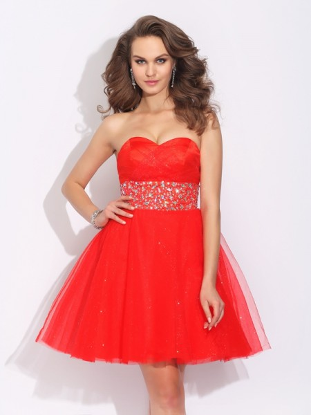 Princess Bateau Bowknot Short Satin Dress