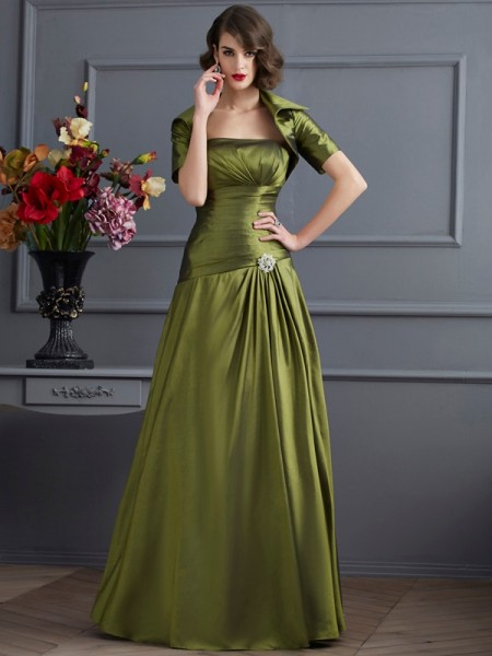 Elegant Taffeta Short Sleeves Special Occasion Wrap