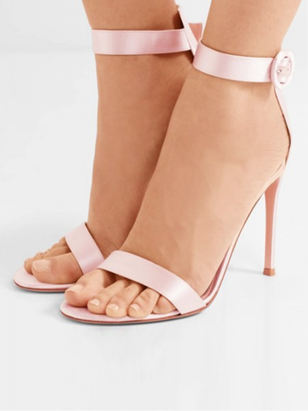 Cheap Satin Sandals S720170630LF