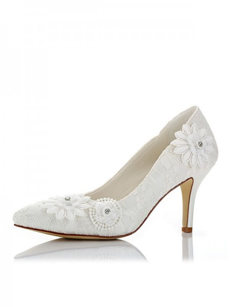 Stylish Net Wedding Shoes SW0162331I